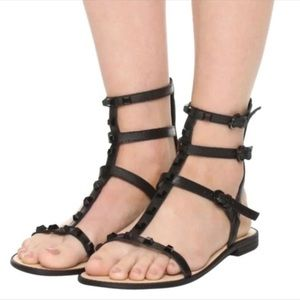 Rebecca Minkoff Georgina Leather Sandal Sz 9.5M